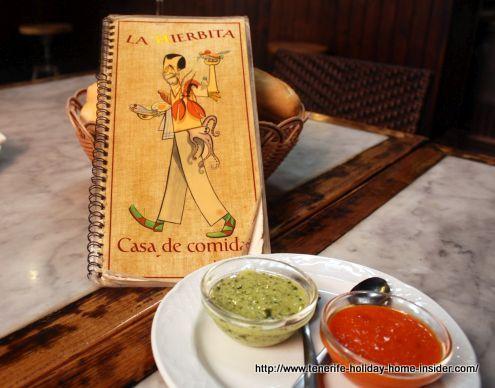 A la carte presented in a charming vintage fashion.