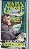 Agatha Christie  Festival Poster 2009 Puerto de la Cruz