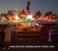 Amusement Park funfair nightlife Puerto de la Cruz