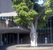 Art museum TEA Tenerife seen from Archeological Museum