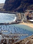 Atlantic  currents at Playa de las Teresitas fishing port