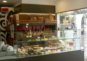 Bakery stall inside SM 2000