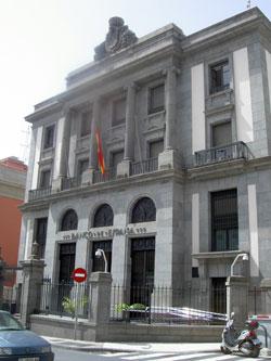 Bank of Spain Santa Cruz Tenerife Banco Espana