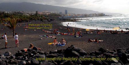 Beach landscape indigenous Tenerife