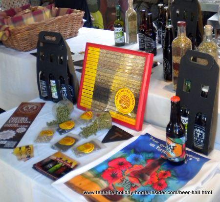 Beer made in Tenerfe by Tacoa El Sauzal