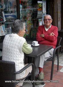 British expats Angus and Steffne of  Puerto Cruz Tenerife North