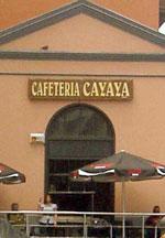 Cafeteria Cayaya Tapas Bar Restaurant Tenerife