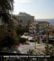street Calzada Martianez Puerto de la Cruz Tenerife