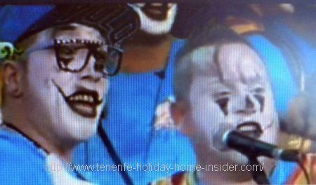 Carnaval Tenerife Murgas Los Bambones