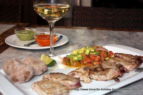 Carne Fiesta Hierbita a Christmas Eve lunch special.
