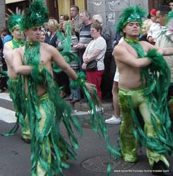 Tenerife carnival dancers