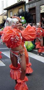 carnival girl santa cruz de tenerife