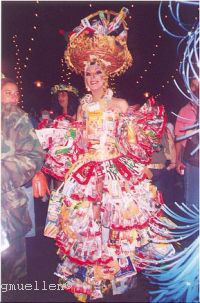 Carnival Tenerife Puerto Cruz-plastic dress