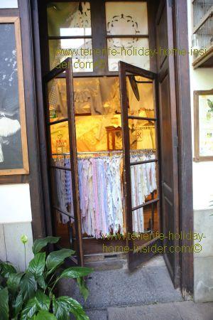 Casa de los Balcones Tenerife with a glimpse into its treasure chest for shopping