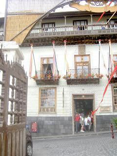 Casa de los Balkones outside view