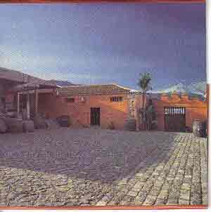 Finca wine house La Baranda casa del vino