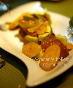 Catalan Tapas of Restaurant Mil Sabores Tenerife