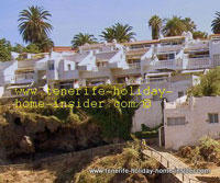 Cliff houses of La Romantica 1 by Puerto de la Cruz