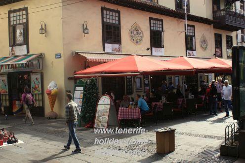 Columbus Plaza Cafe on Plaza del Charco Puerto de la Cruz.