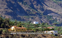 Country scenery coastal Los Realejos Tenerife