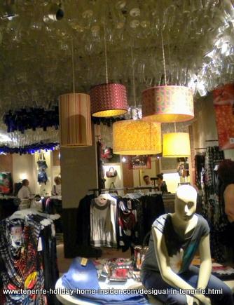 Desigual in Tenerife shop Puerto de la Cruz