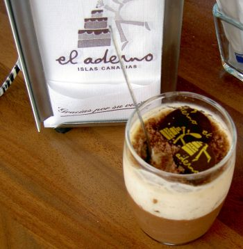 A diabetic dessert by the chef Teobaldo Méndez.