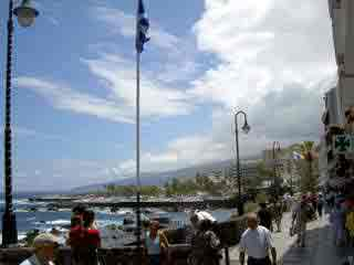 Waterfront Puerto de la Cruz.