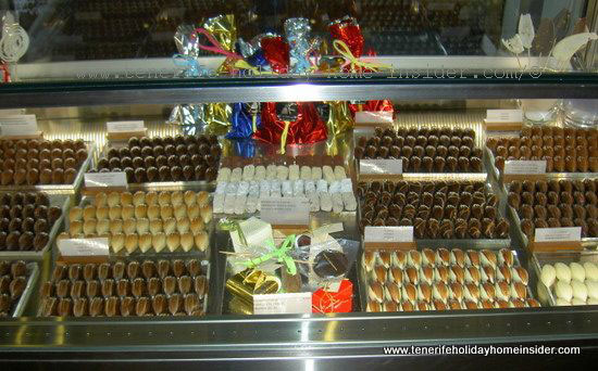 El Aderno chocolates and sugar free sweets