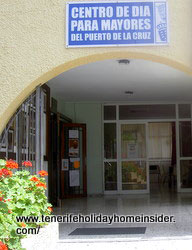 Elderly day care center Puerto Cruz Tenerife