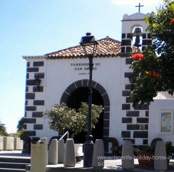 Ermita San Amaro y de Nuestra Senora de la Paz Puerto Cruz Spain