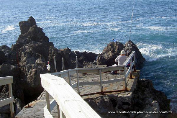 Fishing seashore Punta Brava Puerto de la Cruz