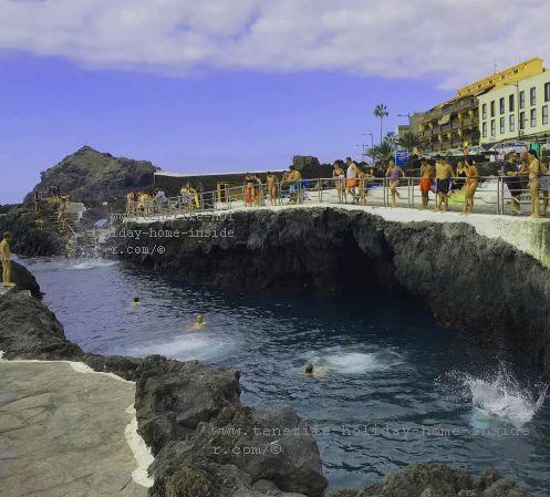 Garachico Tenerife Caleton a Volcano gift