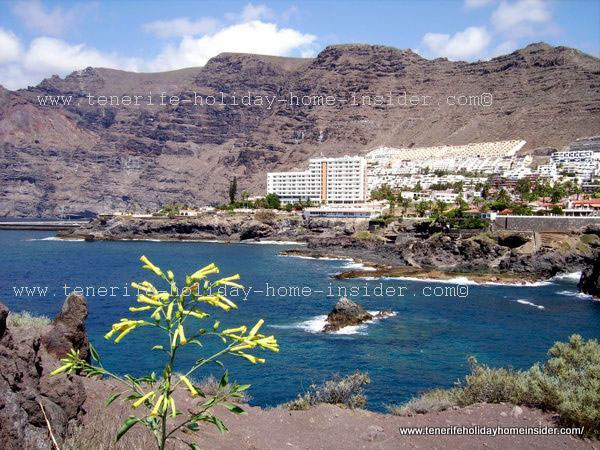 Los Gigantes westcoast town of Tenerife