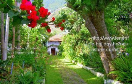 Hacienda garden de los Principes Los Realejos