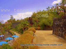 Hanging gardens Playa Jardin Puerto de la Cruz