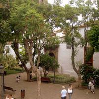 Icod de los Vinos Plaza town square