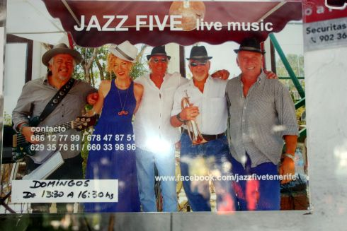 Jazz Five photo with extra information on the picture.