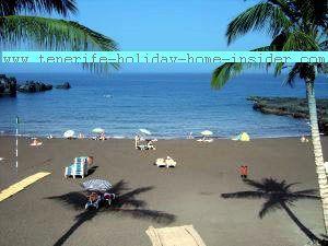 Tenerife beach by Los Gigantes