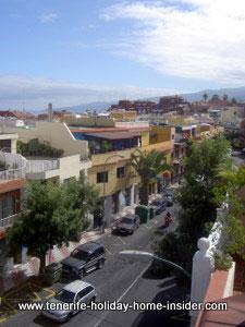 Longuera view off balcony Tenerife Toscal