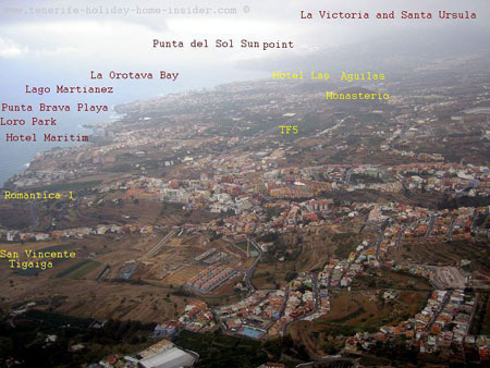 Orotava Valley large photo map
