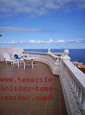 Luxury veranda of 80 square meters in Tenerife