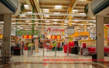 Megamarket Alcampo of La Laguna Tenerife