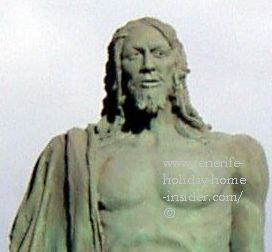 Mencey Acaymo Guanche leader at time of Black Madonna apparition.