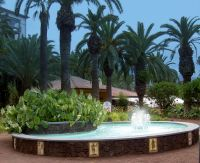 Mirador Taoro Park fountain  puerto de la cruz tenerife