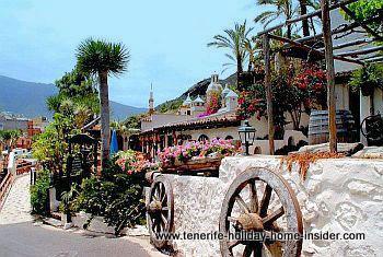 El Monasterio park with so called Meson Monasterio i