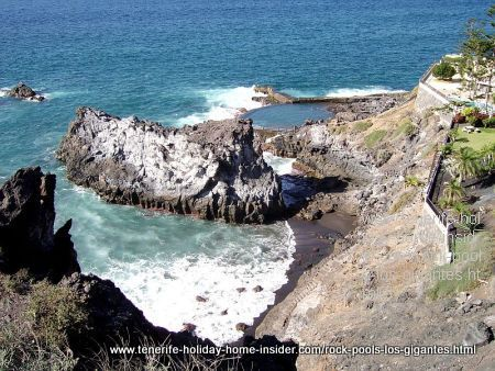 Natural swimming pools Los Gigantes by Hotel Barcelo
