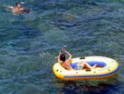 Ocean kayak by Punta del Teno