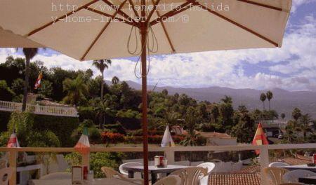 Paradise view of Vista Paraiso cafe