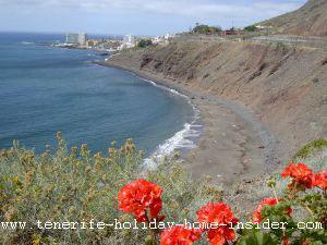 Playa el Arenal surf beach Tenerife North Spain