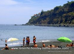 Playa el Socorro of Tenerife North.